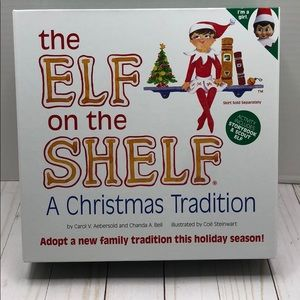 Other - The Elf On The Shelf - Book & Scout the Elf